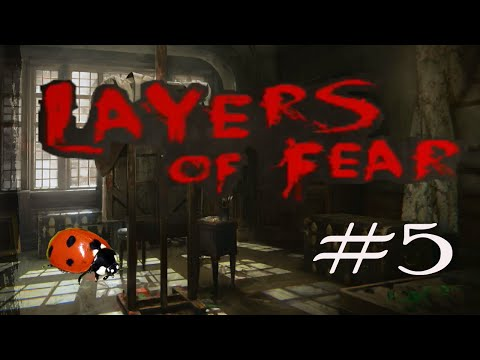 Lets Play Layers Of Fear - Part Five - Hanging On The Telephone.