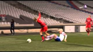 Highlight OL womens vs PSG womens 02/03/2013