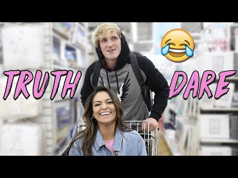Thumbnail: TRUTH or DARE in Public! ft. Logan Paul