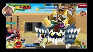 Kingdom Hearts Union X: Young King Mickey B High Score Challenge Run!