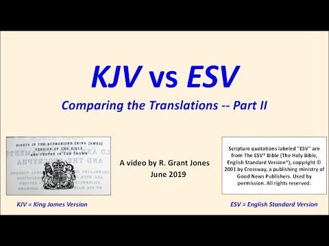 KJV vs ESV, Part II -- the New Testament - YouTube