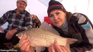 Зимняя Рыбалка с Ночёвкой Открыли сезон 2021
