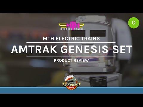 O Gauge MTH Amtrak Amfleet Genesis Set