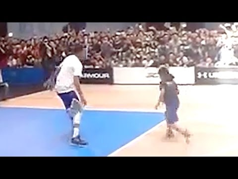 Stephen Curry Gets Schooled by 12-Year-Old Girl
