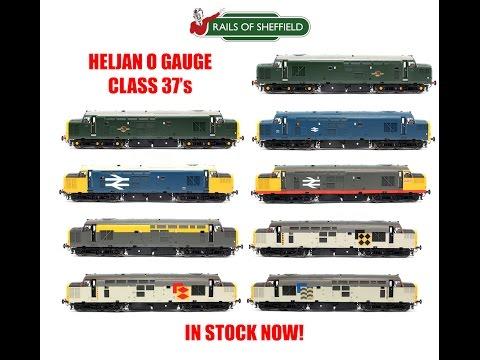 Heljan O Gauge Class 37 Diesel Locomotives