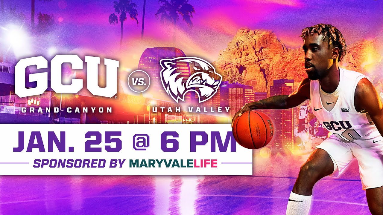 GCU Men's Basketball vs Utah Valley January 25, 2020