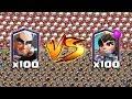 Arqueiro mágico vs princesa clash royale