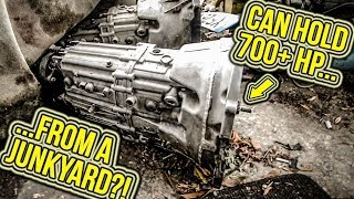 I Found The PERFECT Manual Gearbox For My SL55 AMG...In A JUNKYARD! - Project SL55 Pt 6