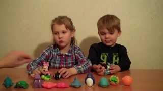 Развивающее видео про игрушки морские животные Educative video about sea animals