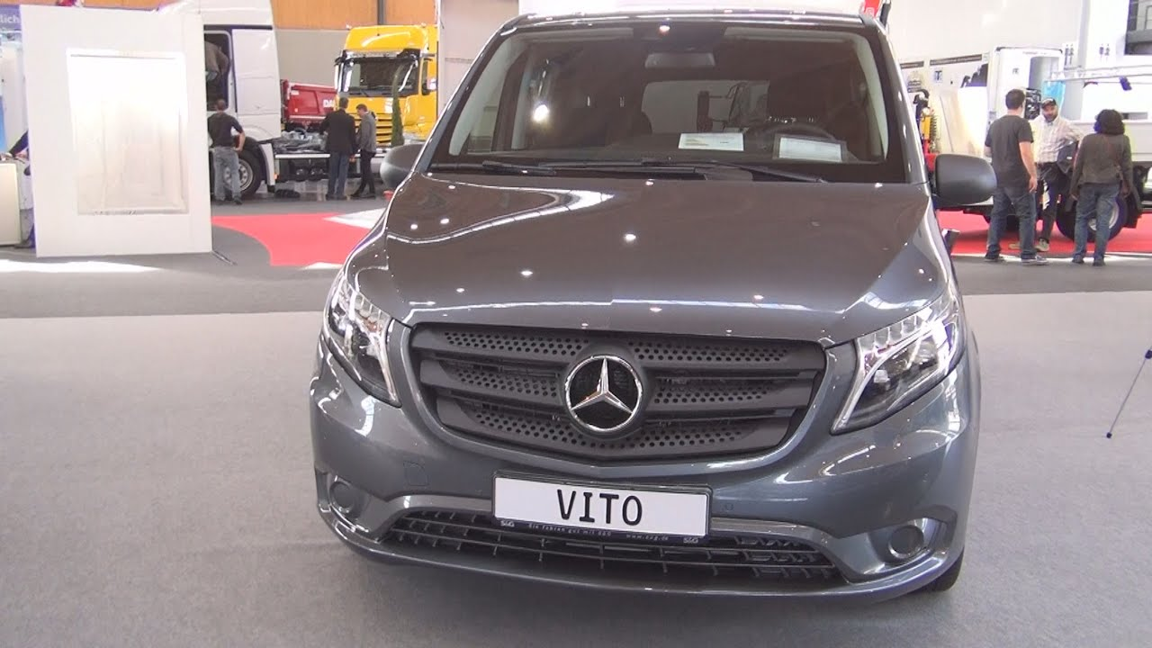 Mercedes benz vito tourer 119 bluetec 2016 exterior and for Mercedes vito interieur