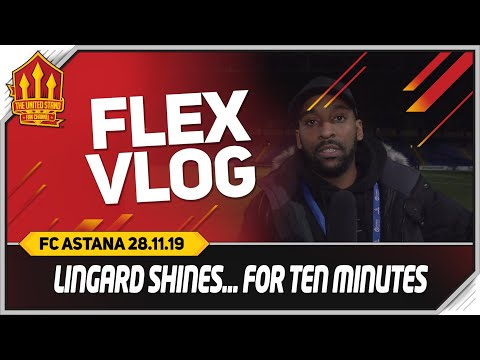FC Astana 2-1 Manchester United Flex Match Reaction & Vlog