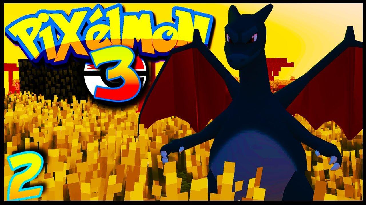 Mon Dracaufeu Shiny Mega Pixelmon Ep2 Pokemon Minecraft