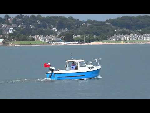 Small Fishing Boat Firth of Tay Scotland