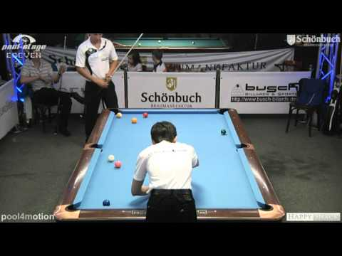 Stuttgart Open 2011 Waldecker-Jentsch, 10-Ball, Pool Billard