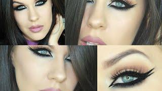 Bold Eyeliner Tutorial | Nikkia Joy