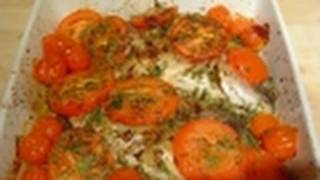 Mediterranean Fish Oven Baked Sea Bream How To Cook Recipe
