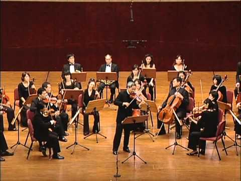 Nai-Yuan Hu & TC Chamber Orchestra play Mozart: Violin Concerto No.2 in D Major, k.211