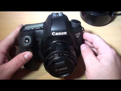 Canon EOS 6D + Canon EF 50mm lens f/1.8 II