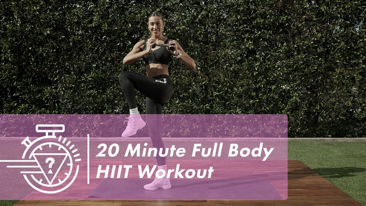 20 Minute All Levels HIIT Workout with Sami Clarke | #GUESSActive