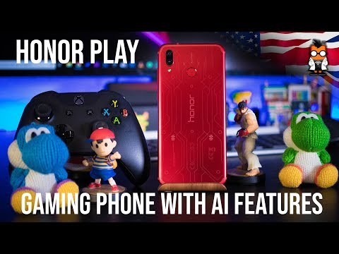 Honor Play - Gaming Smartphone with Artificial Intelligence - Hands on