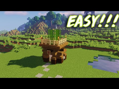 Starter House in Minecraft   How to build in Minecraft?   Tryggツ