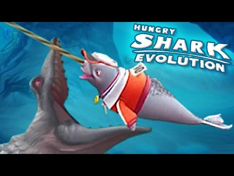 NEW SPECIAL SHARK NATASHA!! || Hungry Shark Evolution - Ep 25 HD