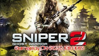 Sniper Ghost Warrior 2 | Gameplay ON GT220 [HD]