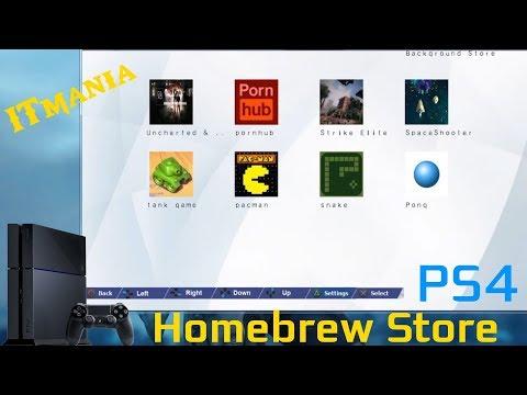 PS4 Homebrew Store. Магазин приложений для PlayStation 4 (JailBreak)
