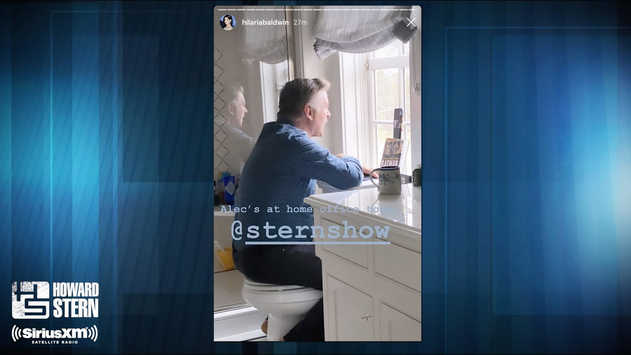 Alec Baldwin Reveals He's Talking to Howard From His Toilet
