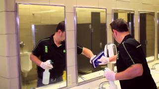 Cleaning A School Bathroom with CPI