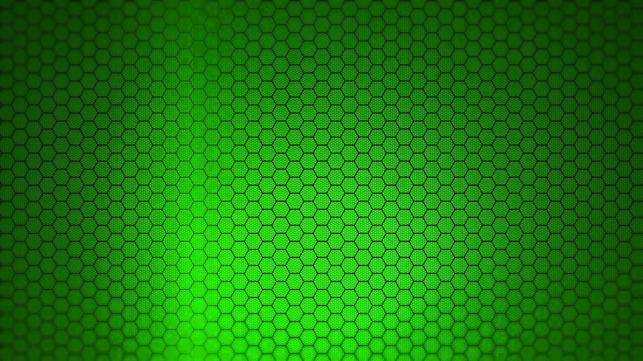 Hexagon Background Green Screen Animation YouTube