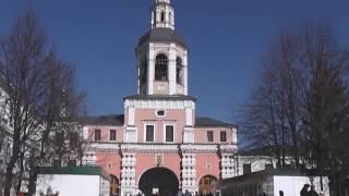 Свято-Данилов монастырь. Звон после службы 26 марта 2017 года.
