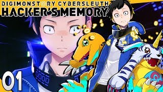 Digimon Story Cyber Sleuth Hackers Memory Part 1 HACKERS! PS4 Gameplay Walkthrough