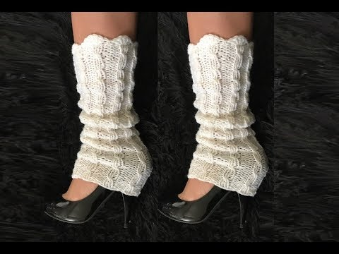 How To Knit Leg Warmers Pattern 639by Thepatternfamily Youtube