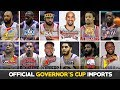 BIGATING IMPORTS ng 2019 Governor's Cup | Complete Official List