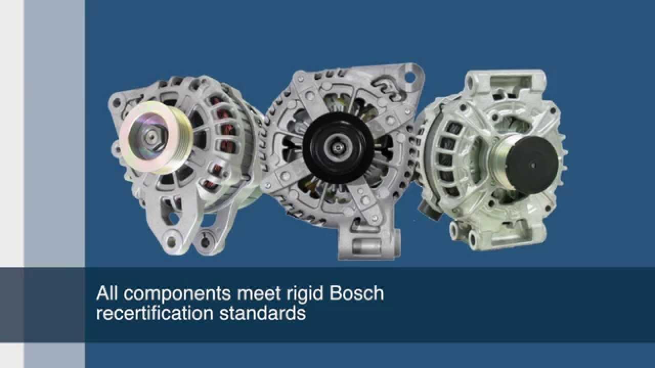 Remanufactured Alternators | Bosch Auto Parts