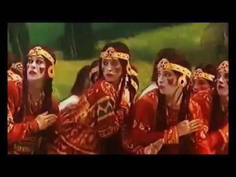Rite of Spring - Joffrey Ballet 1987 - Scenography and costumes by Nicholas Roerich
