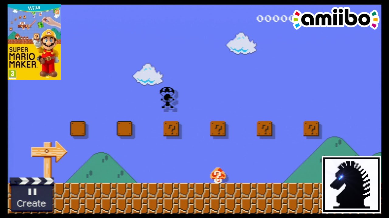 Wii U Amiibo - Super Mario Maker - Mr. Game & Watch, R.O.B. and Duck Hunt Duo Disguises - YouTube