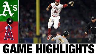 A's vs. Angels Game Highlights (9/18/21) | MLB Highlights