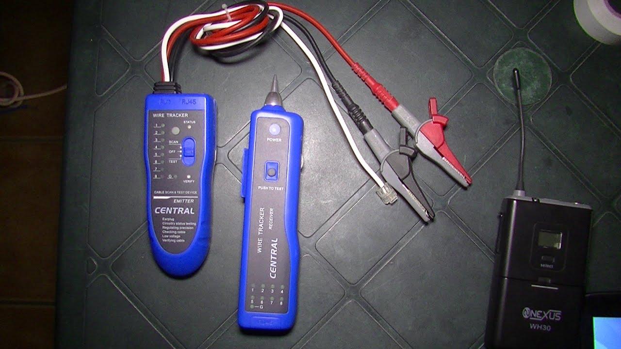 Тоновый генератор для прозвонки кабеля своими руками