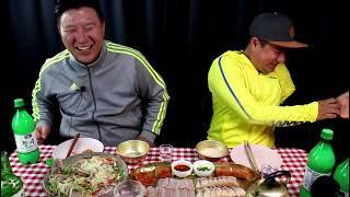 홍어! 드디어 먹방상에 오르다  feat  냉채족발,삼…