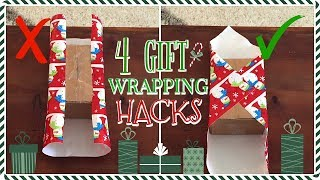 4 GIFT WRAPPING HACKS YOU NEED TO KNOW | Hannah's Happy Home