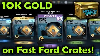 NFS No Limits | 10.000 Gold on Fast Ford Crates!