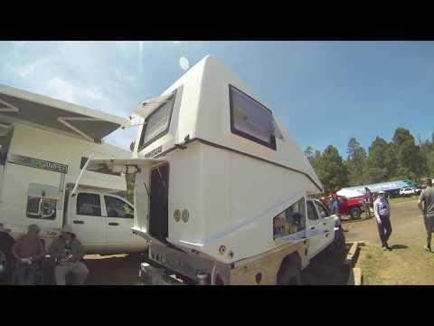 XP Camper V2 (aerodynamic hardside pop up camper) Overland Expo