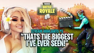 THAT'S THE BIGGEST I'VE EVER SEEN! - FORTNITE HIGHLIGHTS