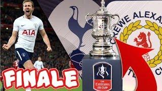 FINALE FA CUP vs. TOTTENHAM! WE TREFFEN ZE WÉÉR! CONOR CHAPLIN!!! | FIFA 18 CREWE CAREER MODE #26