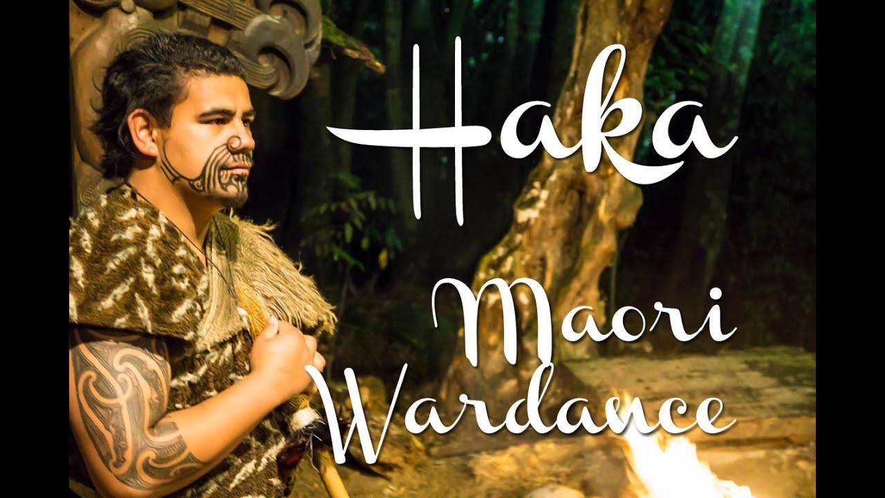 Wonderful Maori Krieger Decoration Of Haka - Traditional War Dance