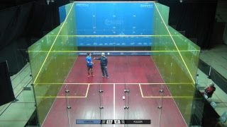 Simon Warder Memorial Squash Tournament 2018 Men\'s Juan Camilo Vargas (COL) vs. Chris Fuller (ENG)
