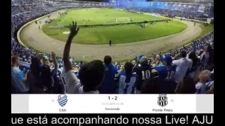 AO VIVO - CSA x Ponte Preta | Brasileirão Série B 2018
