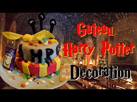 faire-un-gâteau-harry-potter-décoration